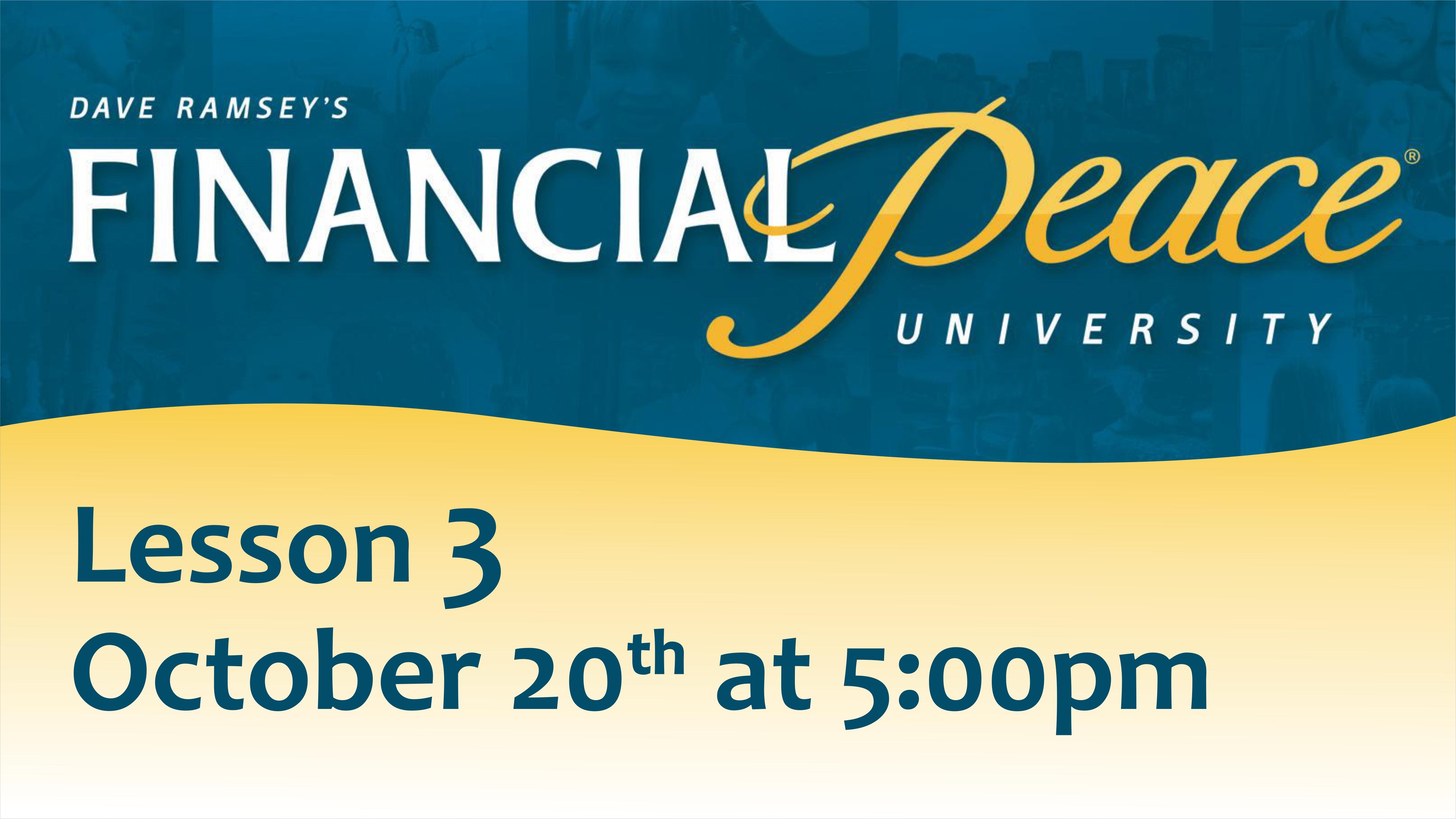 Financial Peace University_SLIDE 3