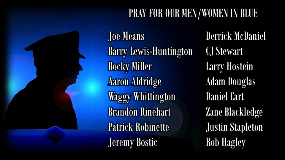 Pray For Our Men In Blue