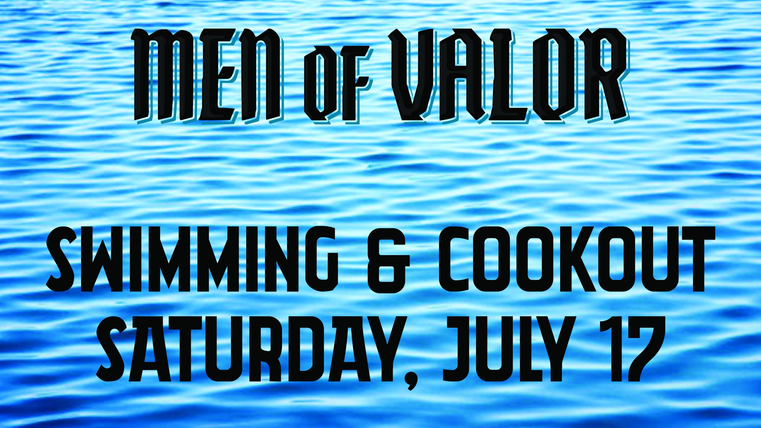 Mens Swimming & Cookout_SLIDE